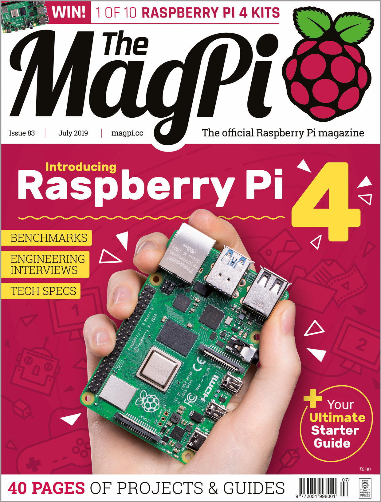 Back Issues & books - The MagPi MagazineThe MagPi Magazine
