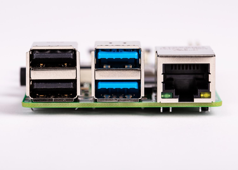Raspberry Pi 4 new USB ports