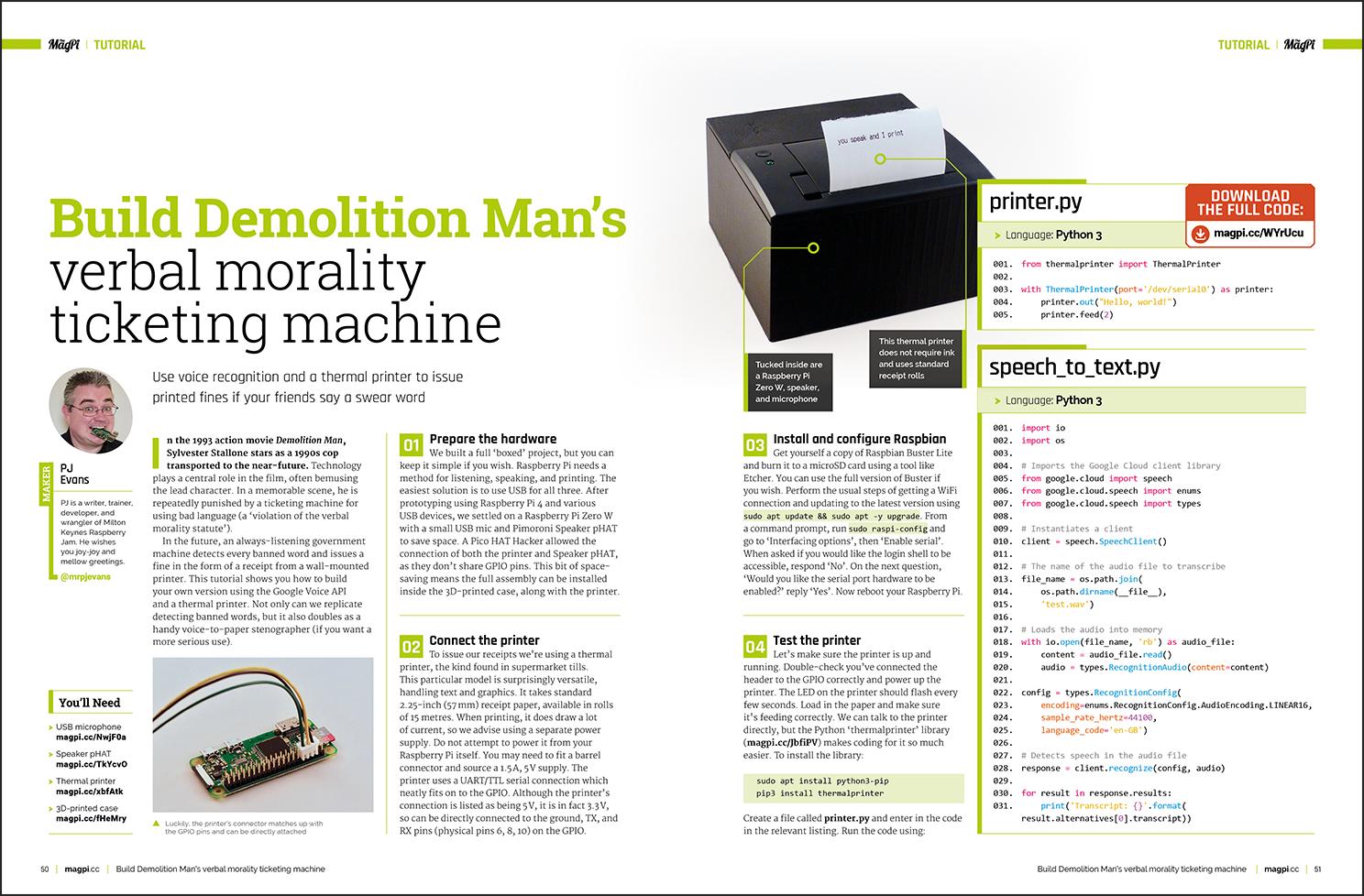 Demolition Man tutorial - The MagPi MagazineThe MagPi Magazine