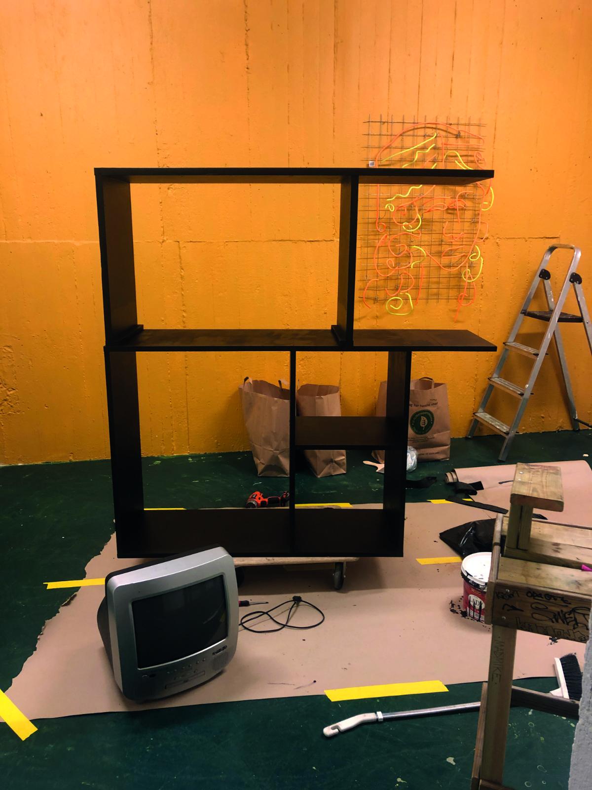 TV Wall Step 1