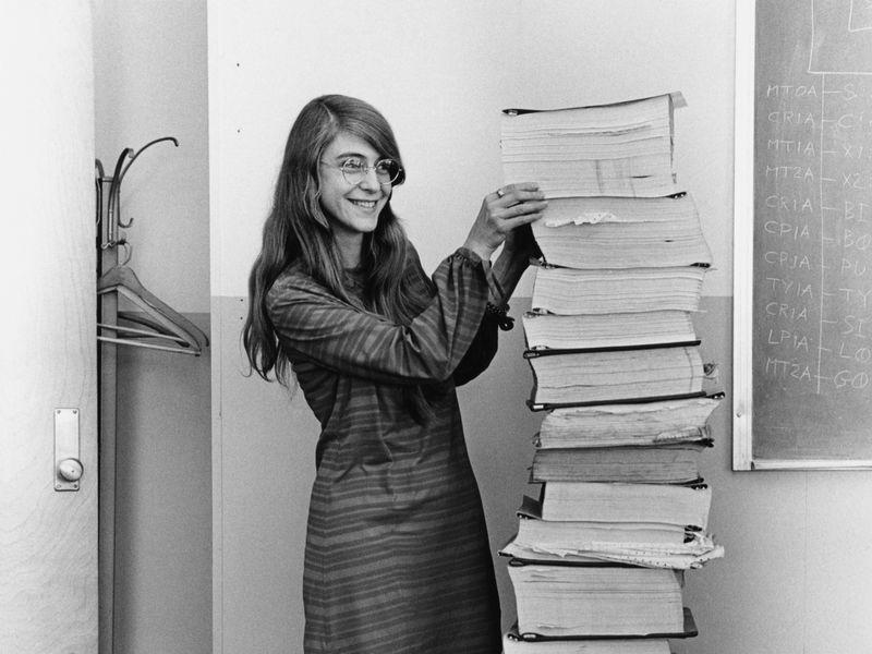 Margaret Hamilton Apollo Guidance Computer Code Output