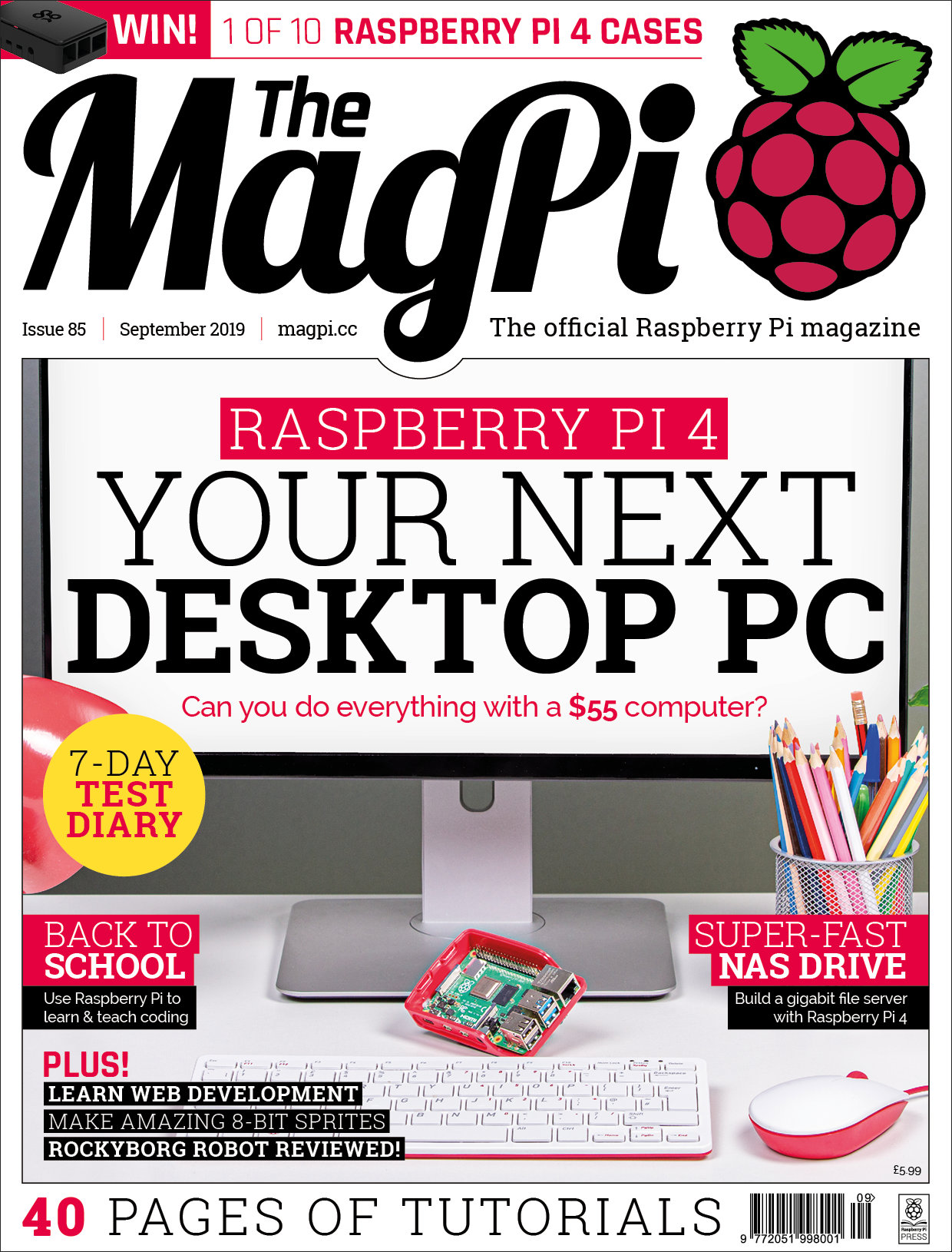 Back Issues & books - The MagPi MagazineThe MagPi Magazine