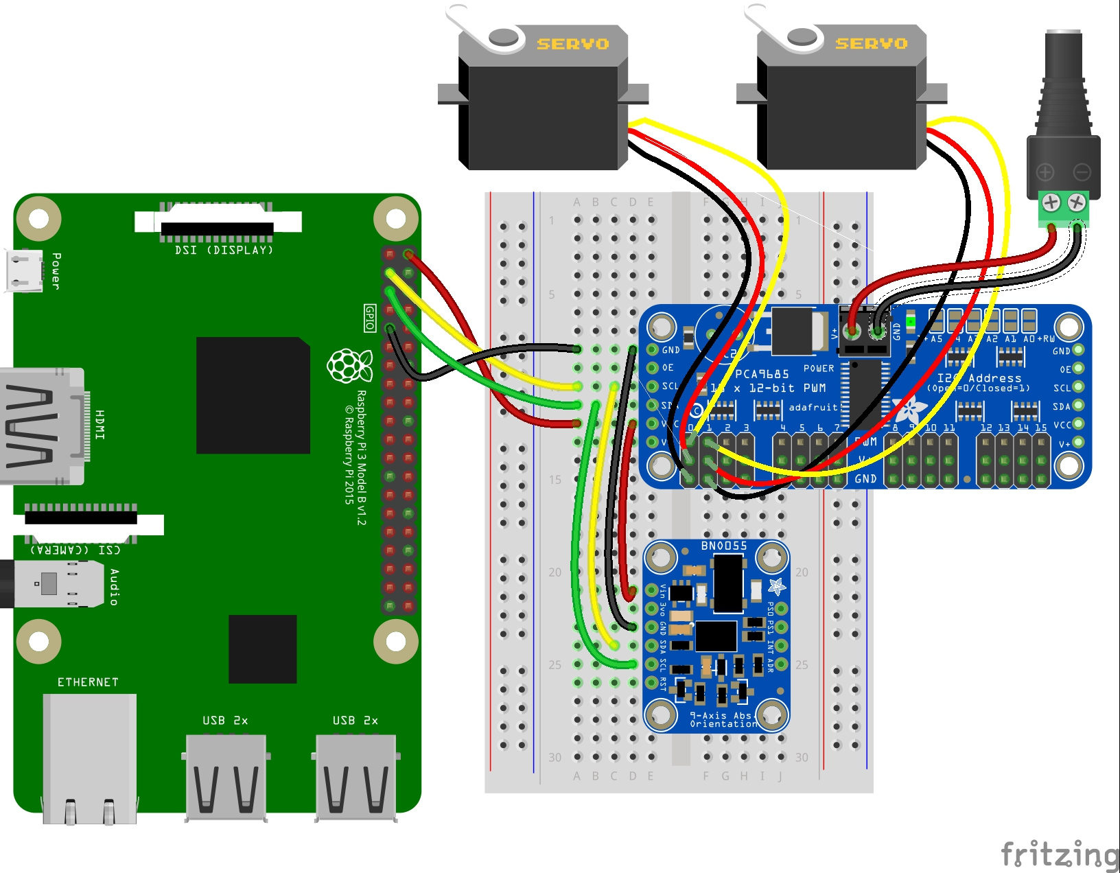 Control Servos With Circuitpython And Raspberry Pi