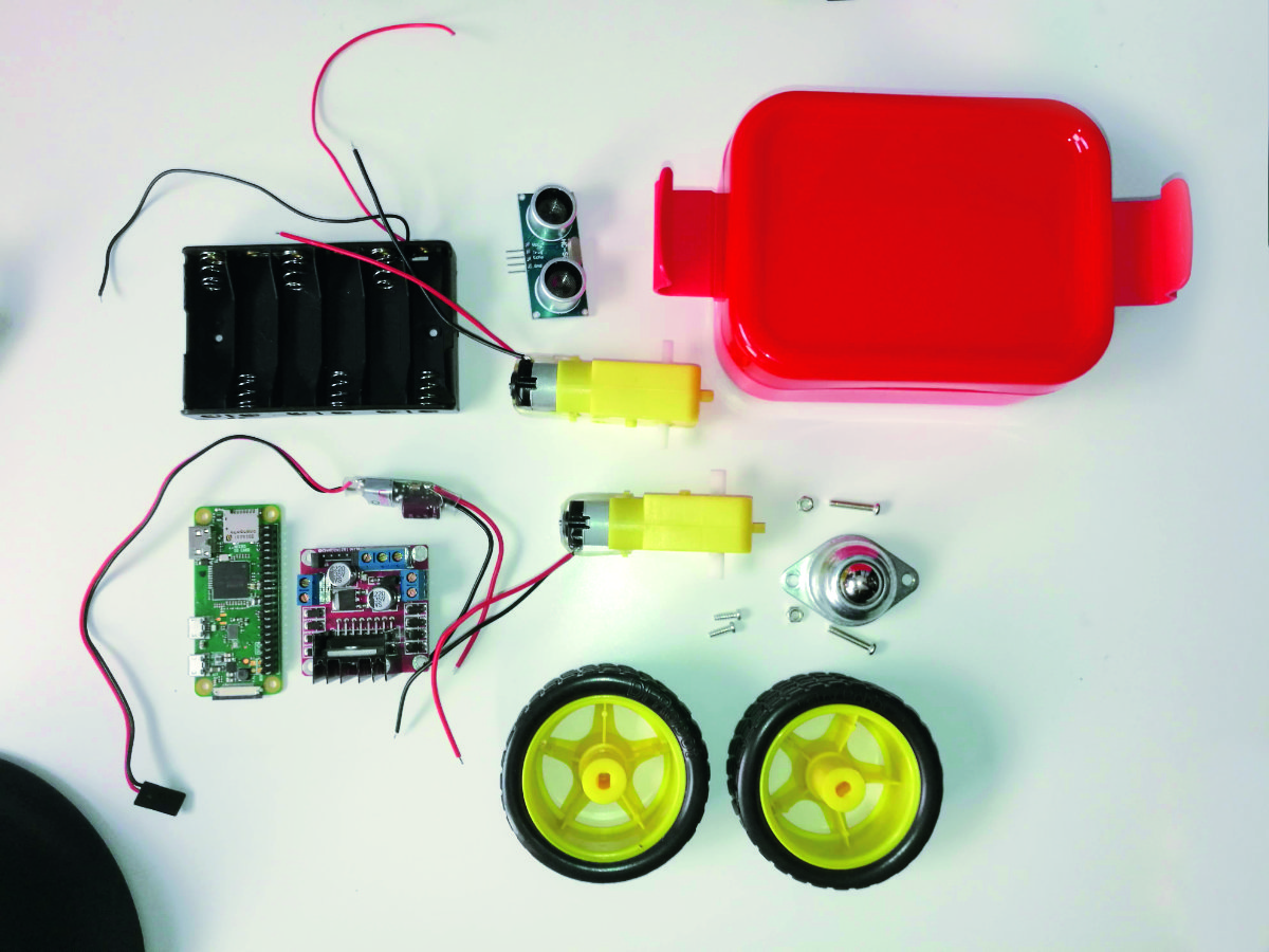 Build a low-cost Raspberry Pi robot: the components you'll need